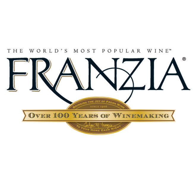 Franzia Wine T-shirt retro 100% cotton graphic white tee shirt