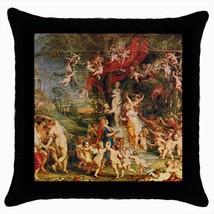 Feast Of Venus Vennsfest Peter Paul Rubens Throw Pillow Case - $16.44