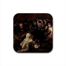 Francisco Goya Aquelarre Il Grande Caprone Non-Slip Drink/Beer Coaster Set - $6.74