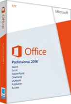 Microsoft Office Profesional Plus 2016 - $45.50
