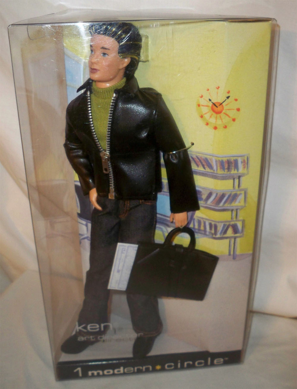 Primary image for 1 Modern Circle Ken  Doll NRFB Collector Edition 2003