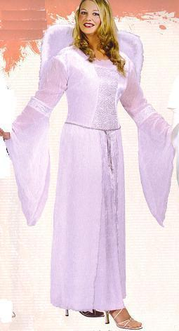 HEAVENLY ANGEL COSTUME PLUS SIZE SZ 16-24w