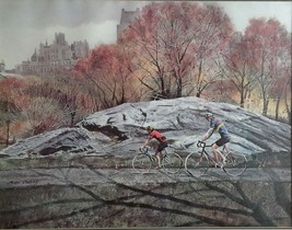 Cycling in the Park By James Colway - $65.00