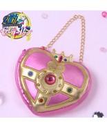Authentic Sailor Moon Crystal 20th Anniversary Rare Pink Heart Bag Banda... - $89.99