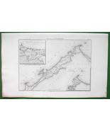 1859 ANTIQUE MAP - Egypt Environs of Alexandria... - $27.72