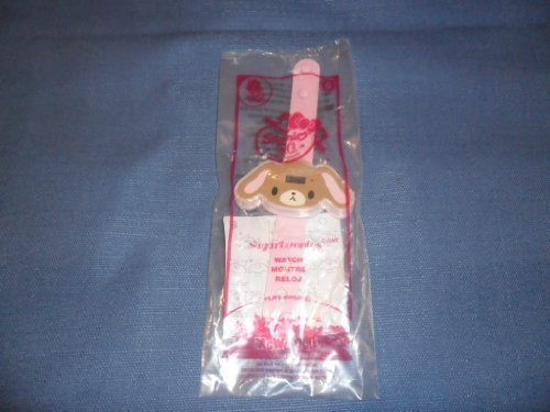 2010 McDonald's Happy Meal Sanrio 50th Anniversary Sugarbunnies Watch . . . Toy