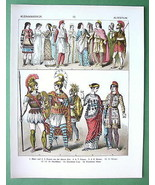 COSTUME of Turkey Asia Minor Men Women Soldiers... - $27.72