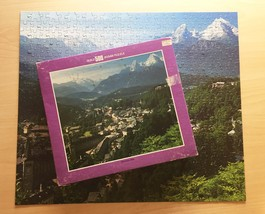 "Vintage 50s Whitman Guild Jigsaw Puzzle- #4615-4 ""Berchtesgaden, Germany"""