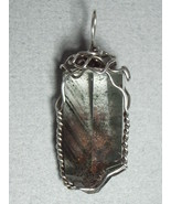 Dendritic Quartz Crystal Pendant Wire Wrapped .925 Sterling Silver by Je... - $72.00