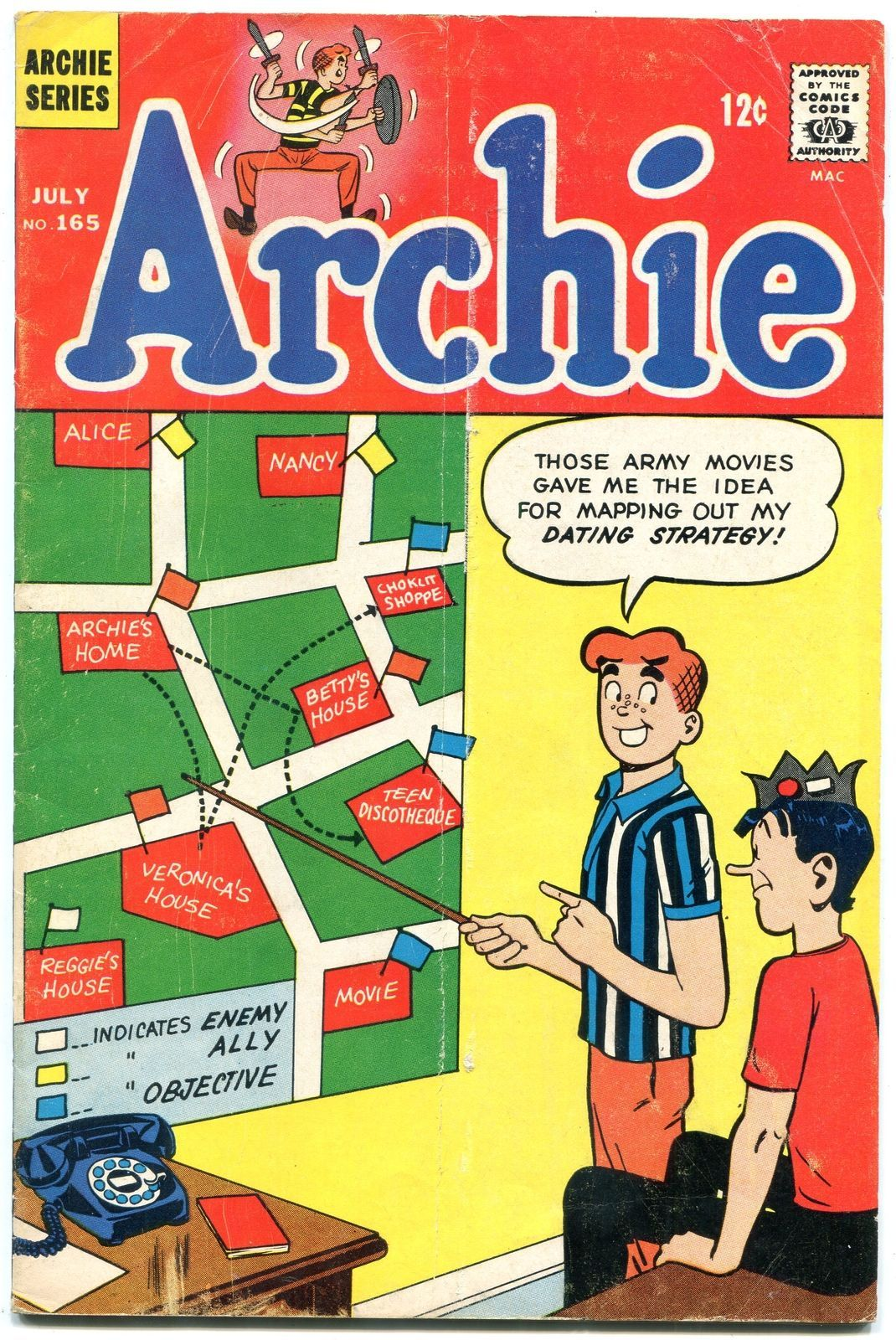 Archie Comics #165 1966- Silver Age-Betty & Veronica- G