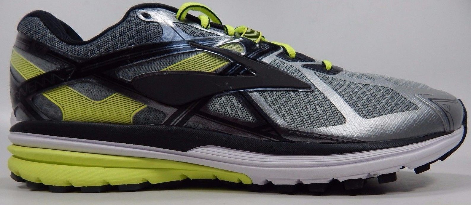 Brooks Ravenna 7 Men's Running Shoes Size US 9 M (D) EU 42.5 Gray 1102171D116