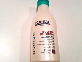 L'Oreal Professionnel Nature Source Re-Naitre Shampoo Redress/Empowering 8.45oz. - $23.94
