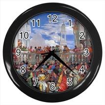 Nozze Di Cana Paolo Veronese Wall Clock - $17.41