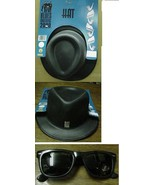 BLUES BROTHERS HAT with Adult sized Glasses CHILD SIZE HAT - $9.00