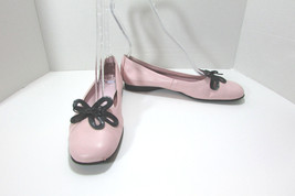 "Aerosoles Leather Pink ""Passion Rose"" Ballerina... - $24.74"