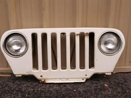 97-06 Chrysler Jeep Wrangler Grill Grille Gril Header Panel Radiator Support image 2