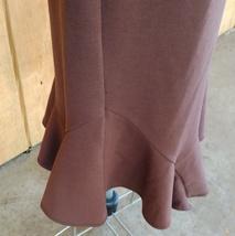 Elementz Brown Stretch Skirt Flared Bottom Size XL image 2
