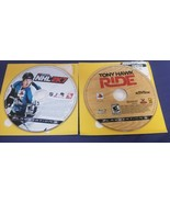 Lot of 2 PS3 Games: Tony Hawk Ride and NHL 2K7 for PlayStation 3 - Discs... - $8.91