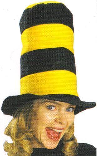 GO STEELERS! BLACK & GOLD OR YELLOW TALL TOP HAT