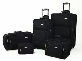 Samsonite 5 Pcs Nested Luggage Soft Sided Complete Expandable Travel Set... - $271.75