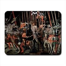 The Battle of Romano III Paolo Uccello Mousepad (Neoprene Non-slip Mousemat) - $7.71