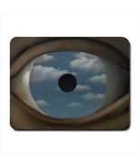 The False Mirror Ren Magritte Mousepad (Neoprene Non-slip Mousemat) - $7.71