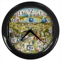 The Garden of Delights Hieronymus Bosch Wall Clock - $17.41