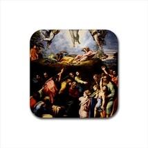 Trasfigurazione Raphael Raffaello Non-Slip Drink/Beer Coaster Set - Art - $6.74