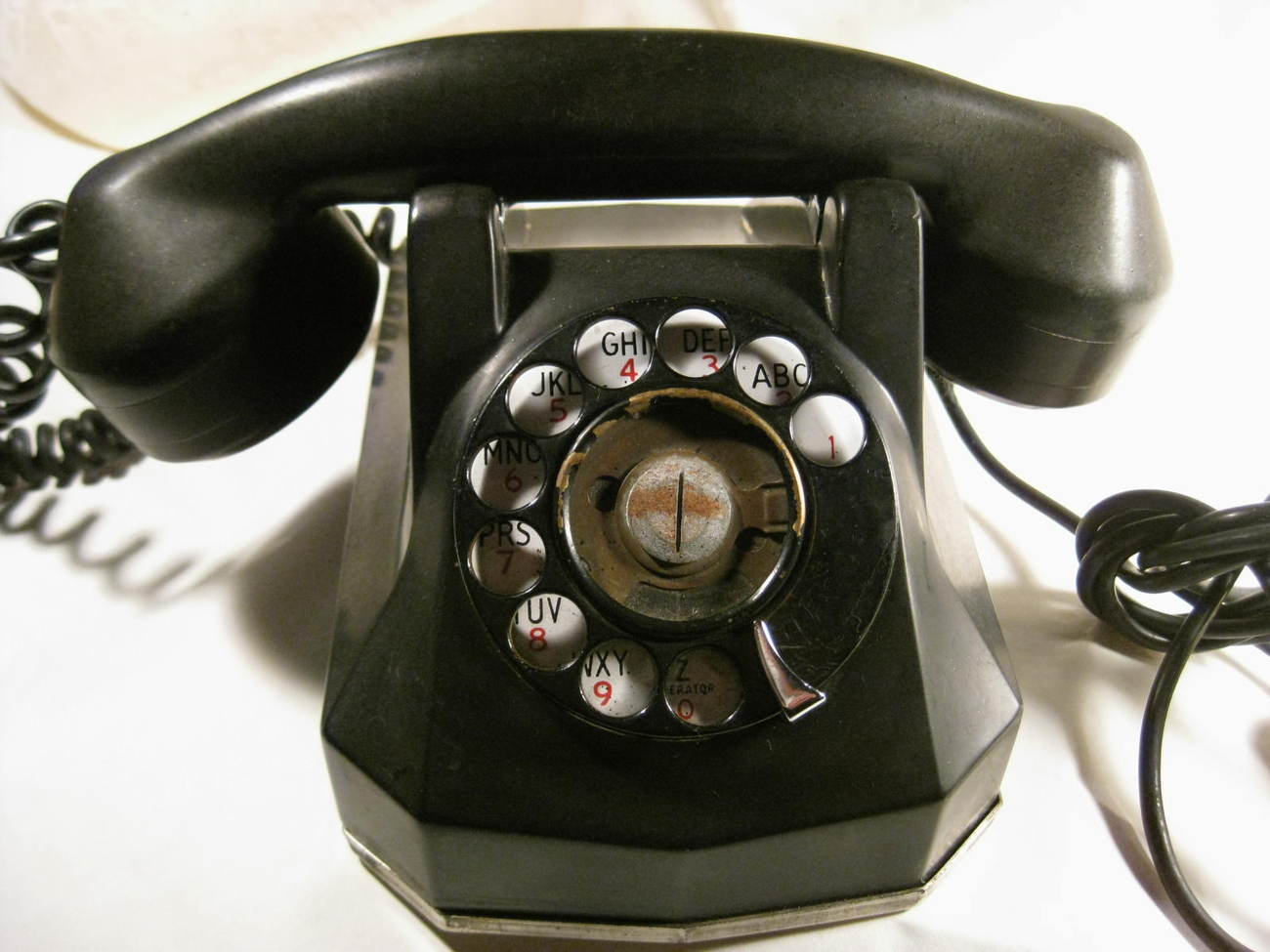 Primary image for Rotary Telephone - Heavy Black Vintage Telephone