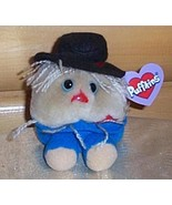 """Puffkins Plush 5"""" Scarecrow PATCHES Ready to Travel NWT - $7.95"""