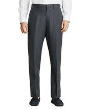 Brooks Brothers Mens Med Gray Regent Linen Flat Front Pants 40R Regular ... - $114.05