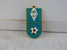 Vintage Soviet Soccer Pin - Dinamo Tbilisi Top League Champions - Stamped Pin  - $19.00