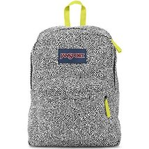 JanSport Superbreak Student Backpack - Black Ziggy - $28.45