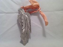 NWT Cynthia Webb Designs Pewter Praying Flying Angel Hanging Wall Ornament image 4
