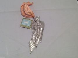 NWT Cynthia Webb Designs Pewter Praying Flying Angel Hanging Wall Ornament image 5