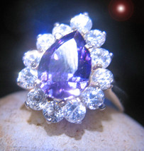 HAUNTED RING OFFERS ONLY OOAK CHOOSE YOUR PATH DIRECT MAGICK 925 7 SCHOLARS  - $200.00