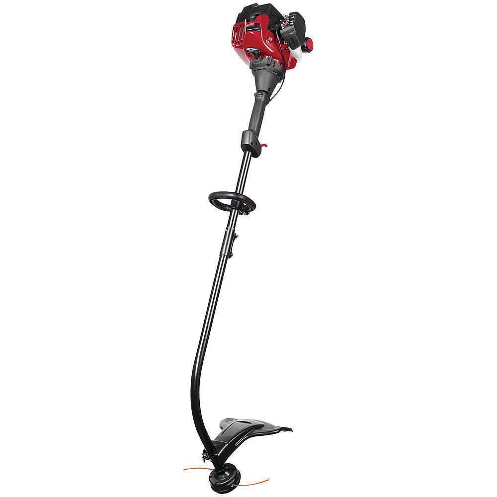 Craftsman Weed Wacker 25cc 2-Cycle Curved Shaft Gas Trimmer Weedeater Red