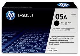 HP 05A Black Original LaserJet Toner Cartridge (CE505A)Yield 2300 - $107.86