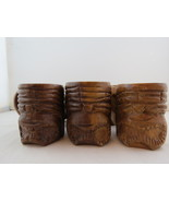 Wooden Ku Set of Shot Glasses - Set of 6 - Made in the Philippines - $39.00