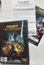 STAR WARS: The Old Republic Teen Game 2011 LucasArts PC CD ROM Software - $7.95