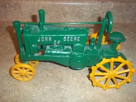 Cast Iron John Deere Tractor Toy - $44.55