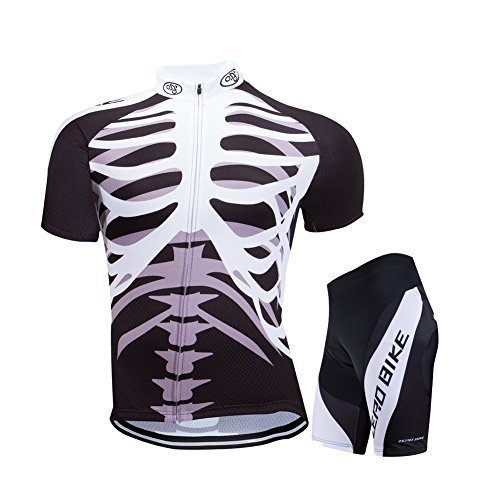 Primary image for ZEROBIKE® Men's Short Sleeve Breathable Cycling Jersey Sports Clothing 3D...