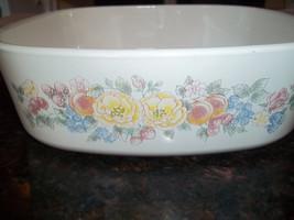 Orchard Rose , Corning Ware A-2-B , 2 Quart Casserole Dish - $30.79