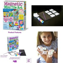 4M Magnetic Mini Tile Art - Diy Paint Arts  Crafts Magnet Kit For Kids -... - $22.24