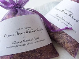 Organic MUGWORT Dream Pillow, Vivid Dreams - Freshly Created - $6.50