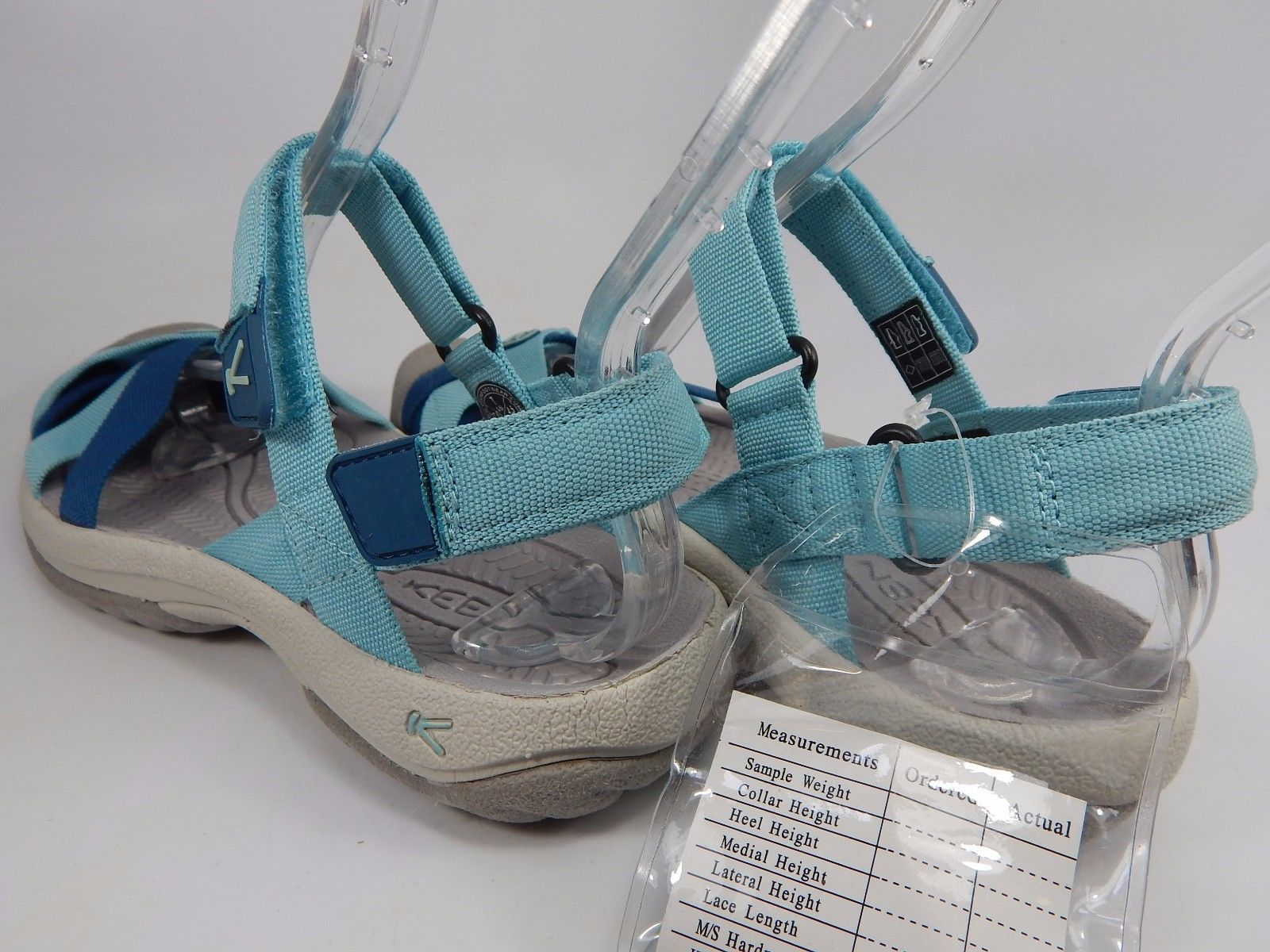 Keen Bali Strap Women's Sports Sandals Size US 7 M (B) EU 37.5 Aqua Sea Legion