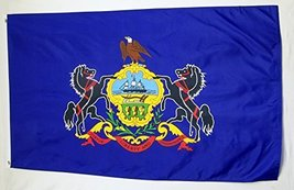 State of Pennsylvania Flag 3' X 5' Indoor Outdoor State Banner - $9.95