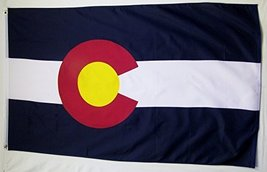 State of Colorado Flag 3' X 5' Indoor Outdoor State Banner - $9.95