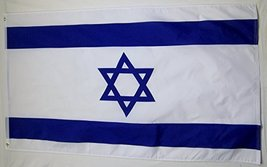 Israel Country Flag 3' X 5' Indoor Outdoor International Banner - $9.95