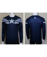 NEW Captain America Winter Soldier Tee Short Long Sleeve T-Shirt Sports Jersey - $14.99